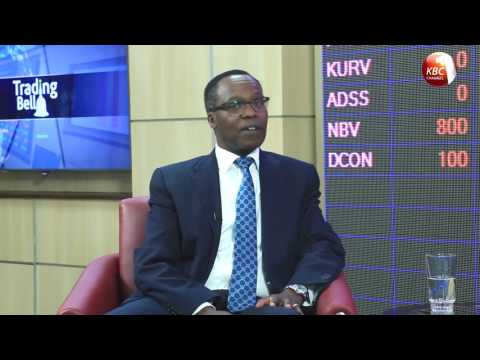 Trading Bell - Mr. John Gachora, Group Managing Director, NIC Bank Group