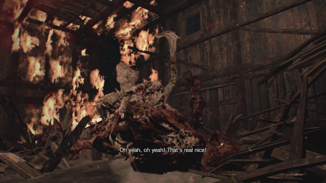 How To Beat Mutated Jack In The Boat House In Resident Evil 7