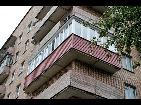 Пример ремонта балкона индивидуальной планировки под ключ - .