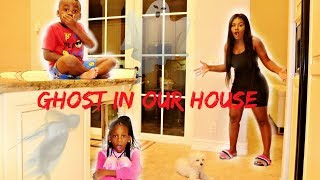 Ghost In Our New House Prank On Yaya and DJ