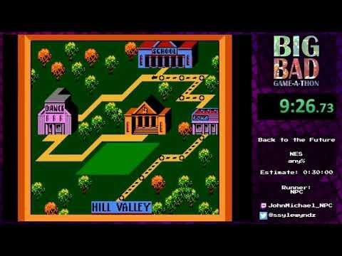 Big Bad Game-a-thon 2017 - Back to the Future by JohnMichael_NPC