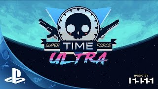 Super Time Force Ultra - More PlayStation Exclusive Characters! | PS4