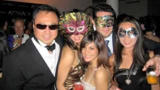 Attica Black Tie Masquarade Party, Soho NYC
