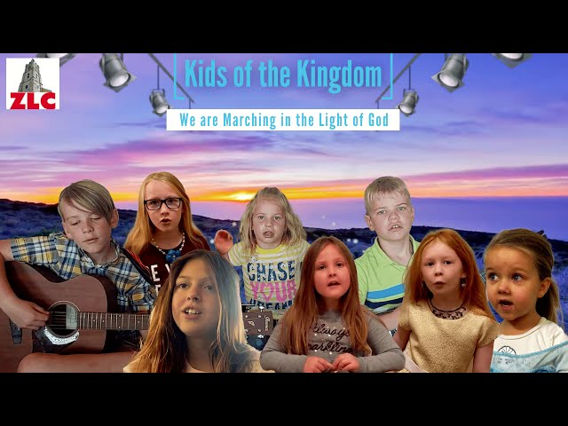 Worship Music - Kids of the Kingdom - We are Marching in the Light of God