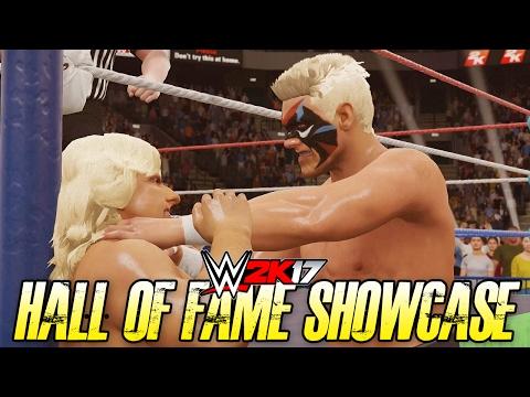 WWE 2K17 Hall of Fame Showcase - STING vs RIC FLAIR (WWE 2K17 2K Showcase DLC)