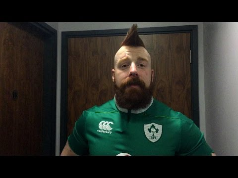 Sheamus on being back home in Dublin with WWE Live