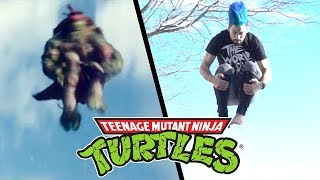 One of Nick Pro's most viewed videos: Stunts from Teenage Mutant Ninja Turtles Movie (TMNT in real life)