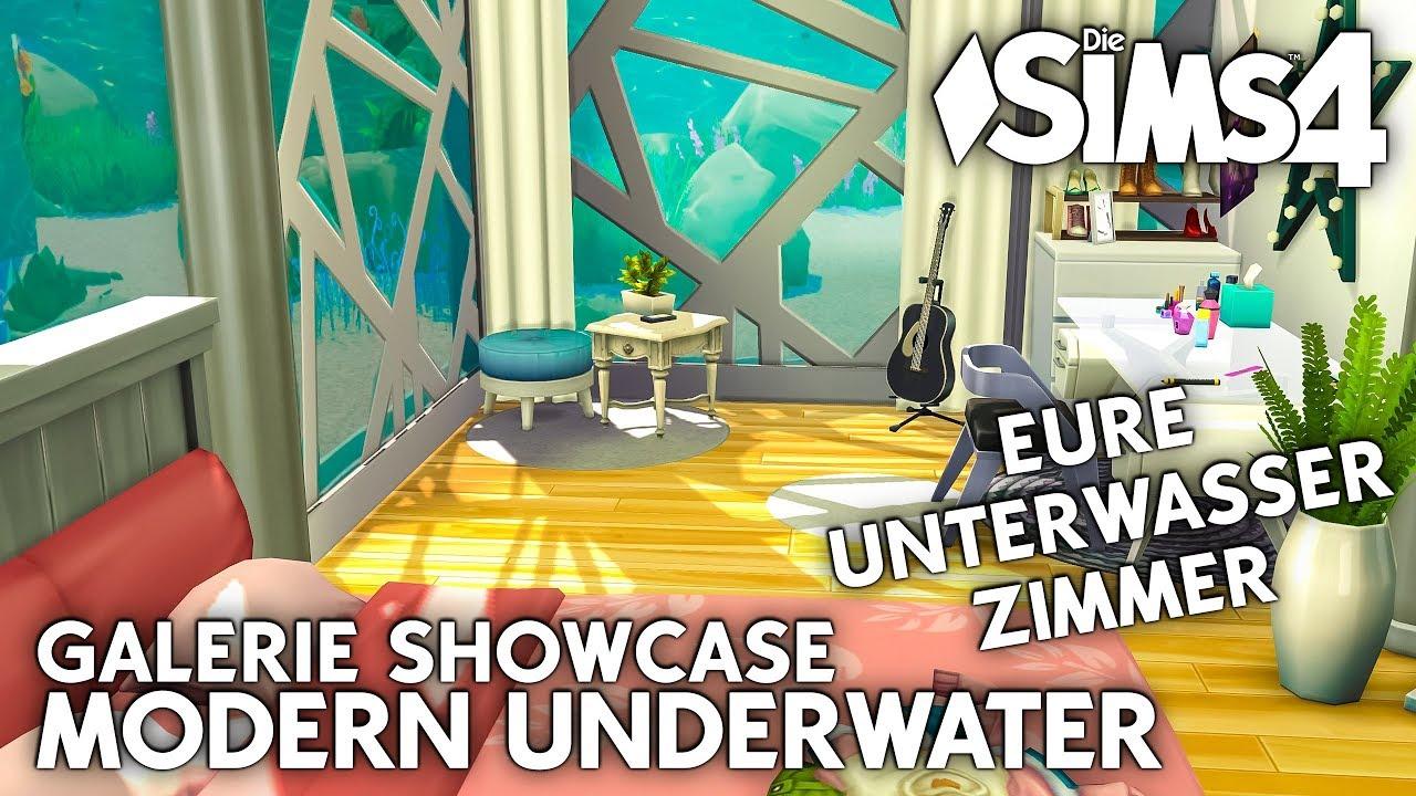 Eure Unterwasser Zimmer 😍 | Die Sims 4 Unterwasser Haus | Modern ...
