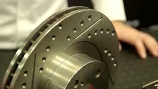 Centric C-TEK Drilled & Slotted Sport Brake Kit Review - SEMA 2014