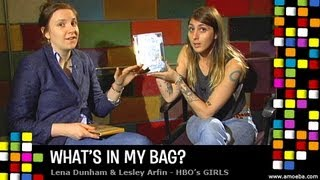 Lena Dunham & Lesley Arfin (GIRLS) - What's In My Bag
