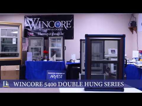 wincore windows reviews wincore 5400 double hung series premier windows ar series youtube