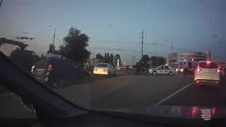 Сбили мотоциклиста 20.07.2019 Волчанская   Михайловское шоссе.