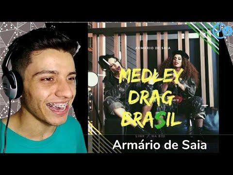 Armário de Saia - Medley Drag Brasil Reaction Reação