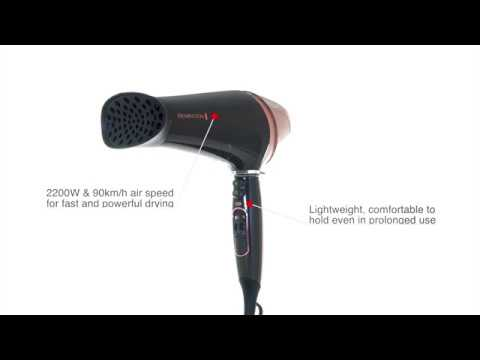 Curl & Straight Confidence Hairdryer 360 - Remington Europe