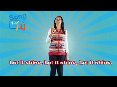 This Little Light Of Mine ~ Kids Bible Song With Lyrics