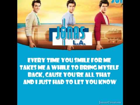 Jonas Brothers - Your Biggest Fan (with lyrics)