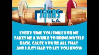 [2.74 MB] Jonas Brothers - Your Biggest Fan (with lyrics)