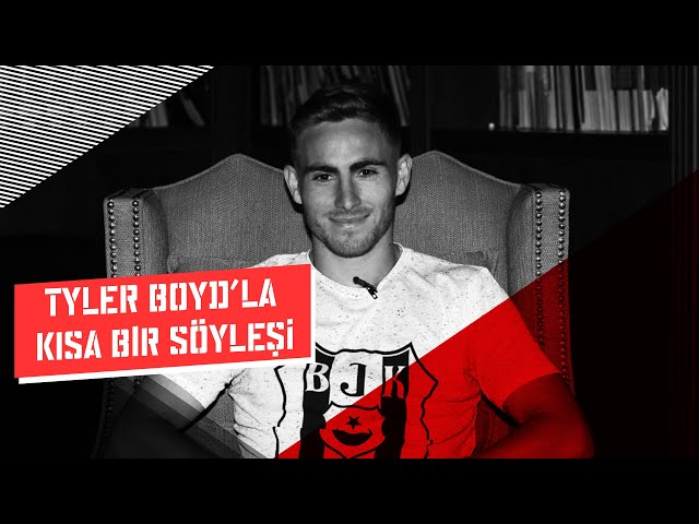 Riva Tesisleri'nde Futbolcumuz Tyler Boyd'la kısa bir söyleşi yaptık.