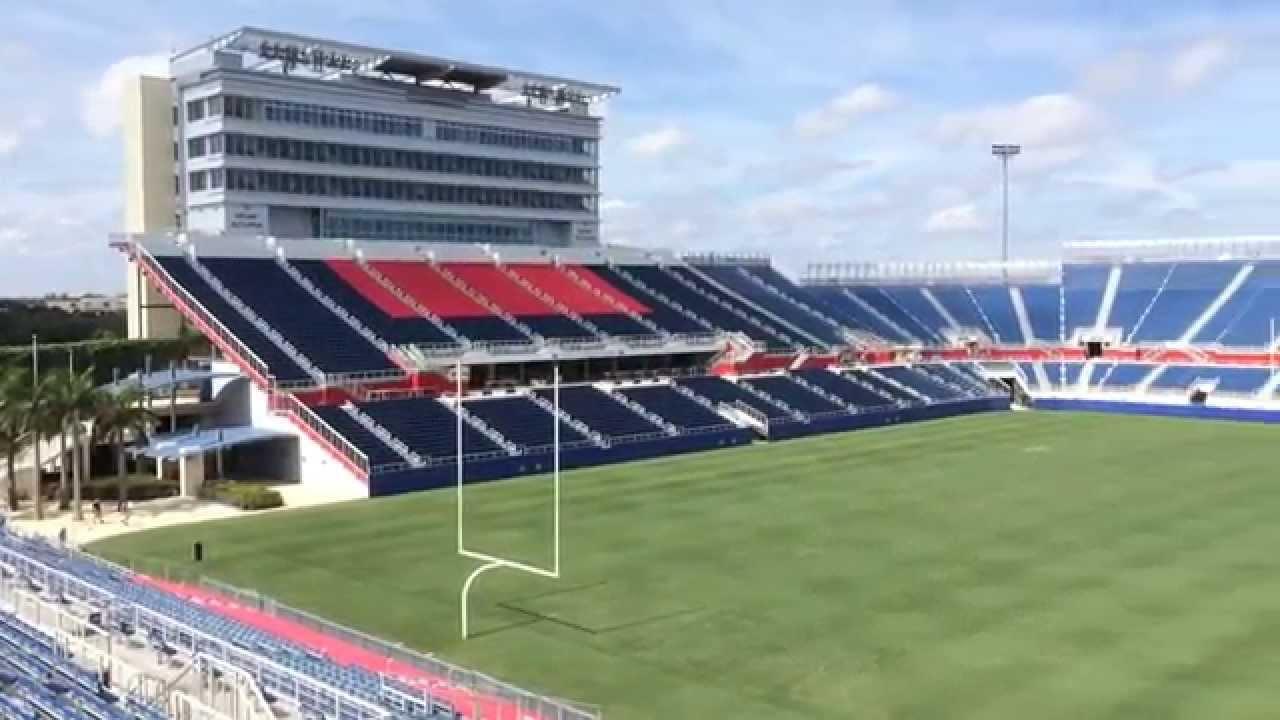 Florida Atlantic Football Stadium - YouTube