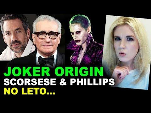 Joker Origin Movie - Martin Scorsese & Todd Phillips, NO JARED LETO