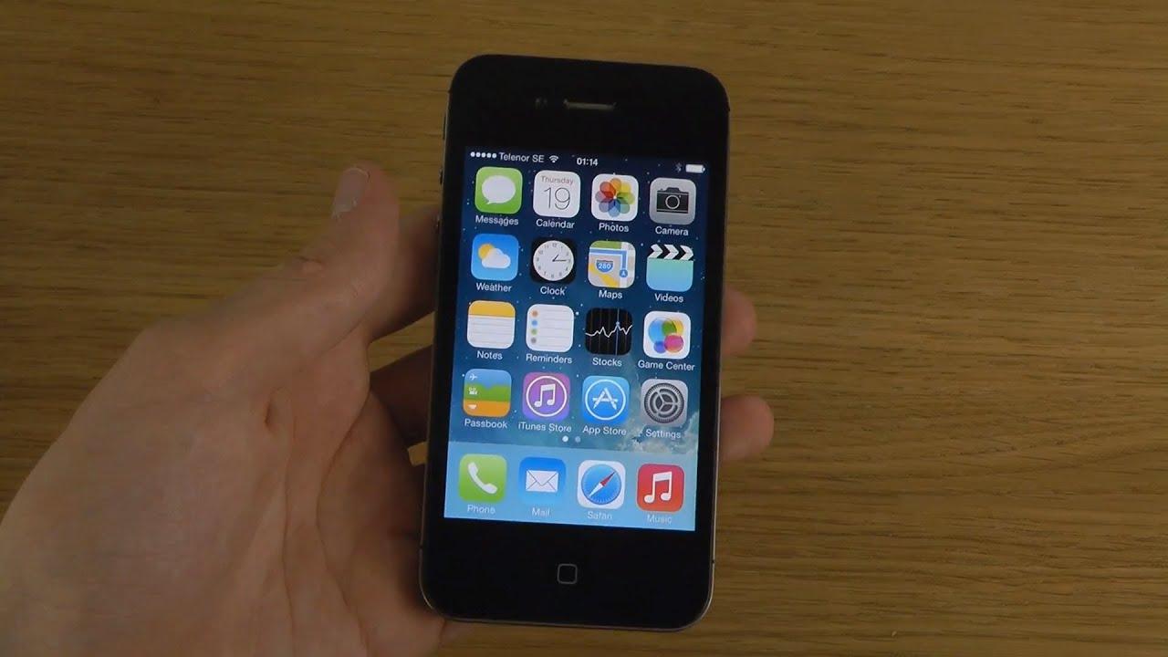 iPhone 4S : iOS 9.3.1 vs iOS 9.3.2 Final Release Build 13F69 - YouTube