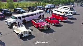 Свадебная Аэросъёмка | ретро свадьба в Алматы