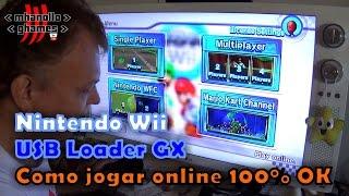 Nintendo Wii: USB Loader GX - Como jogar online 100% OK.