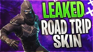 "*NEW* ""ROAD TRIP"" SKIN LEAKED! SEASON 5 WEEK 7 SKIN (Fortnite: Battle Royale)"