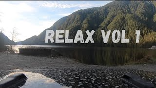 Deep Relaxing Music with beautiful mountain drive | Relax Vol 1 Jeep Gladiator Indian Arm - Squamish