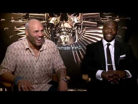 The Expendables 2 - Interview with Terry Crews & Randy Couture
