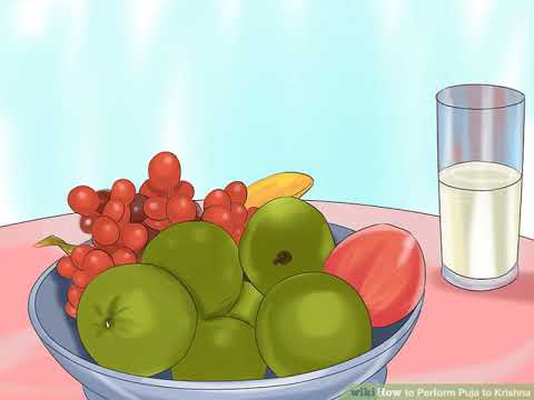 How to Perform Puja to Krishna