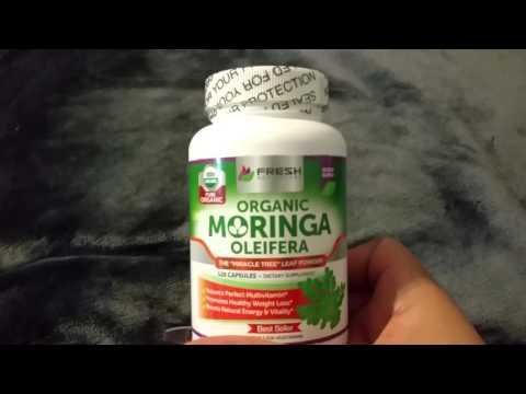 Organic Pure Moringa Oleifera Pills