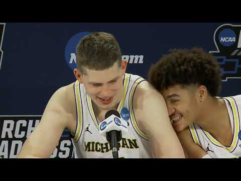 Michigan Press Conference After Houston