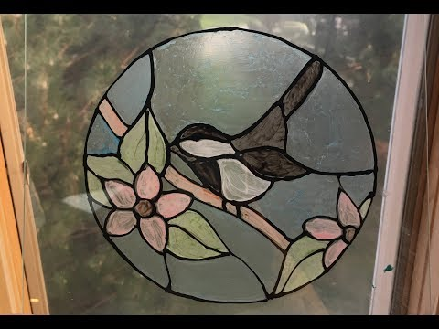 Faux Stained Glass Art Tutorial