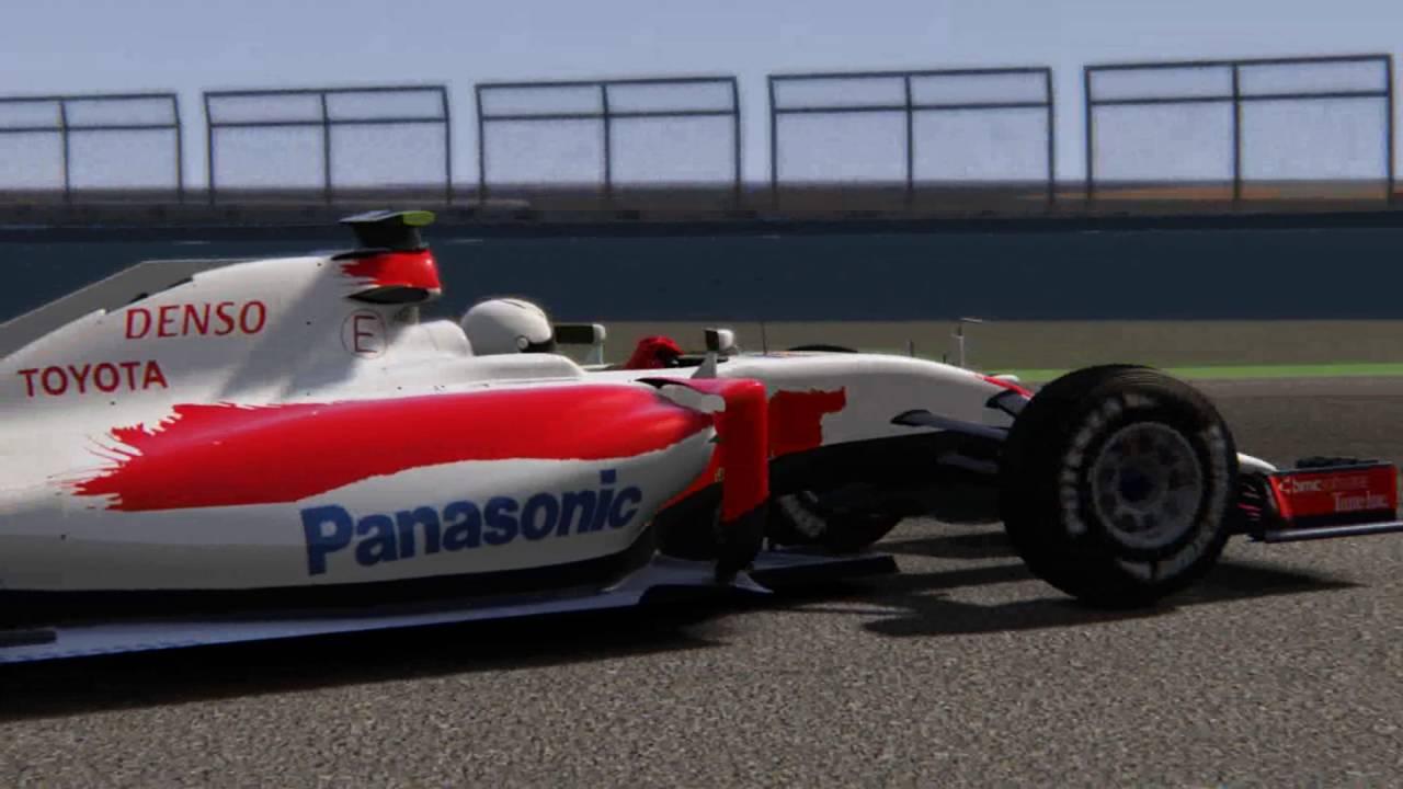 Toyota Team F1 1 Trenink Valencia 2016
