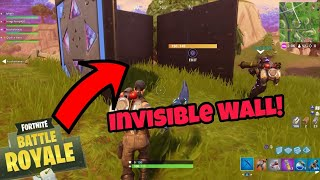 Fortnite Glitches Season 5 (Working) Invisible Wall Glitch Easy Method PS4/Xbox one