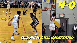 Evan Johnson has CRAZY HANDLES!! + Cam Thomas & Kofi Cockburn SHOW OUT! Oak Hil