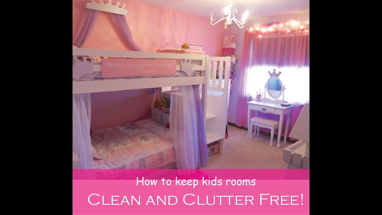 Organization Ideas For Small Bedrooms Little Girls Shared Room Tour Youtube