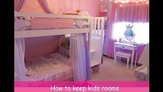 Little Girls Shared Room Tour