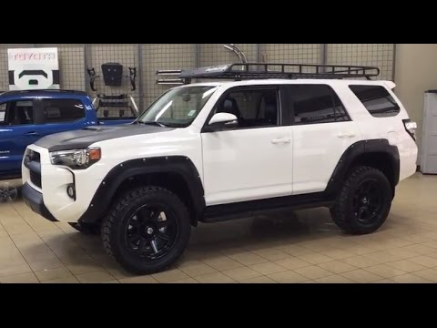 2016 custom toyota 4runner trail edition review youtube. Black Bedroom Furniture Sets. Home Design Ideas