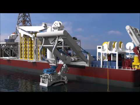 Nautilus Minerals Launch and Recovery System (LARS)