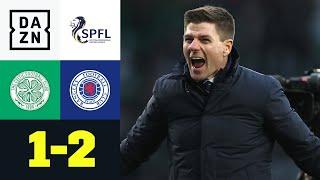 Steven Gerrards Rangers gewinnen Old Firm: Celtic - Rangers 1:2 | Scottish Premiership | DAZN