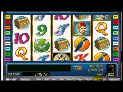 Бонусная игра в игровые автоматы Sharky, игровой автомат Шарки (Пират)