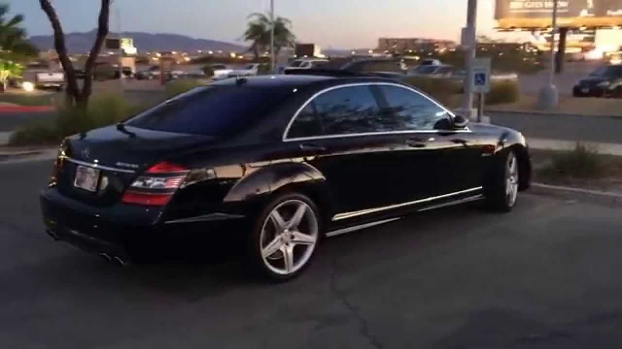 2009 mercedes s63 amg black youtube for 2009 mercedes benz s550 amg