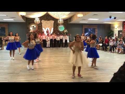 Alyssa's Quinceañera surprise dance