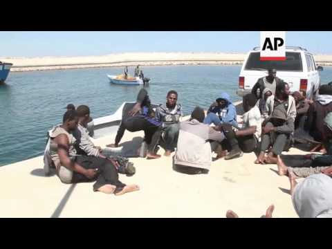 120 migrants rescued from stranded dinghy