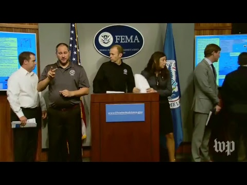 FEMA holds a news conference