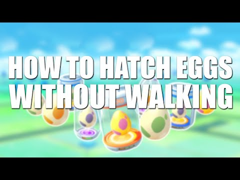 Pokemon Go How To Hatch Eggs And Earn Buddy Candies Without Walking! (ANDROID)