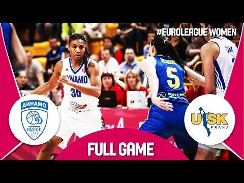 Dynamo Kursk (RUS) v ZVVZ USK Praha (CZE) - Semi-Finals - Full Game - EuroLeague Women 2016/17