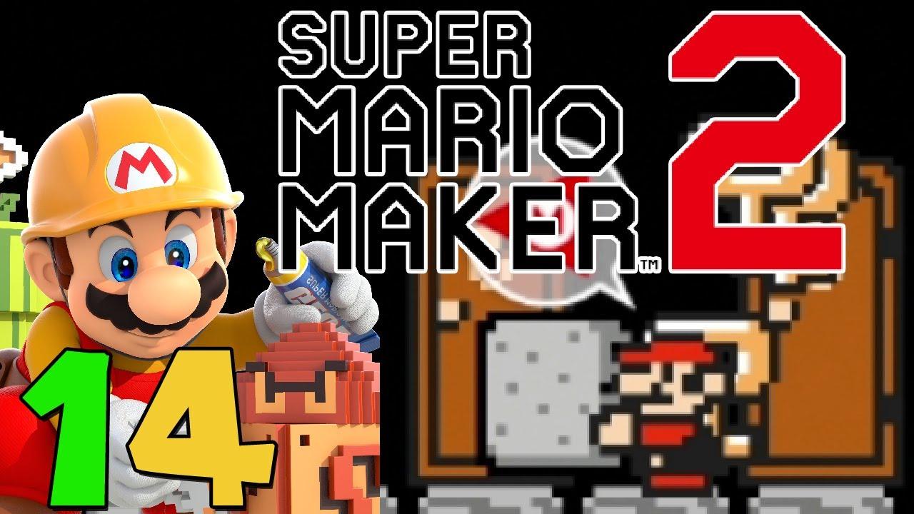 Let\'s Play Super Mario Maker 2 [14] - Stein in der Tasche